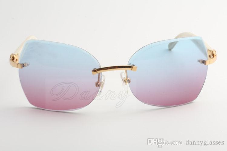 The factory sells new types of sunglasses, 8300818 high quality sunglasses, glasses and white angles: 60-18-140 millimeters