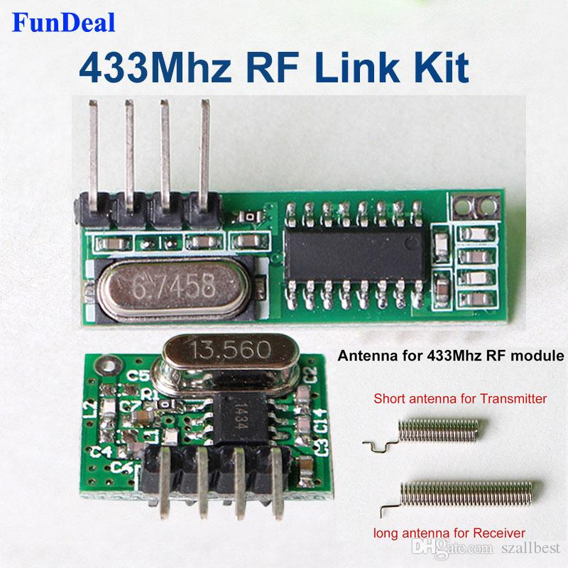 New Rf Module 433 Mhz Superheterodyne Receiver And