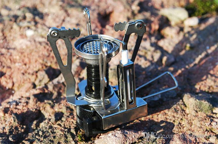 Gas Camping Stove Gas-Powered Butane Propane Camping Picnic Stove Weight:122g Rated Power 3500W