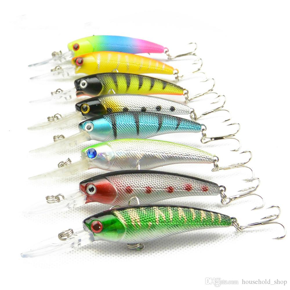 Creative Bionic Bait Fishing Lures Copy Real Fish Plastic Baits Lifelike Fish Hollow Body Tight Bait Pesca A Set