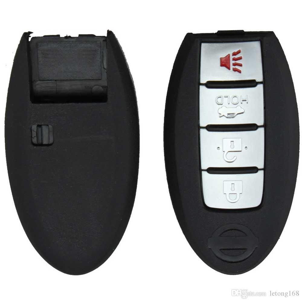 Garantili% 100% 4 Düğmeler Akıllı Uzaktan Anahtar Shell Kılıf Nissan Sentra Maxima Altima Ücretsiz Kargo