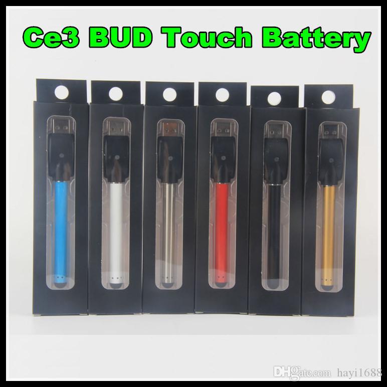 Новый O-Pen Vape Bud Touch Аккумулятор с USB зарядным устройством 510 Резьба для CE3 Испаритель Ручка для воска Масляные картриджи Электронная сигарета Свободный корабль