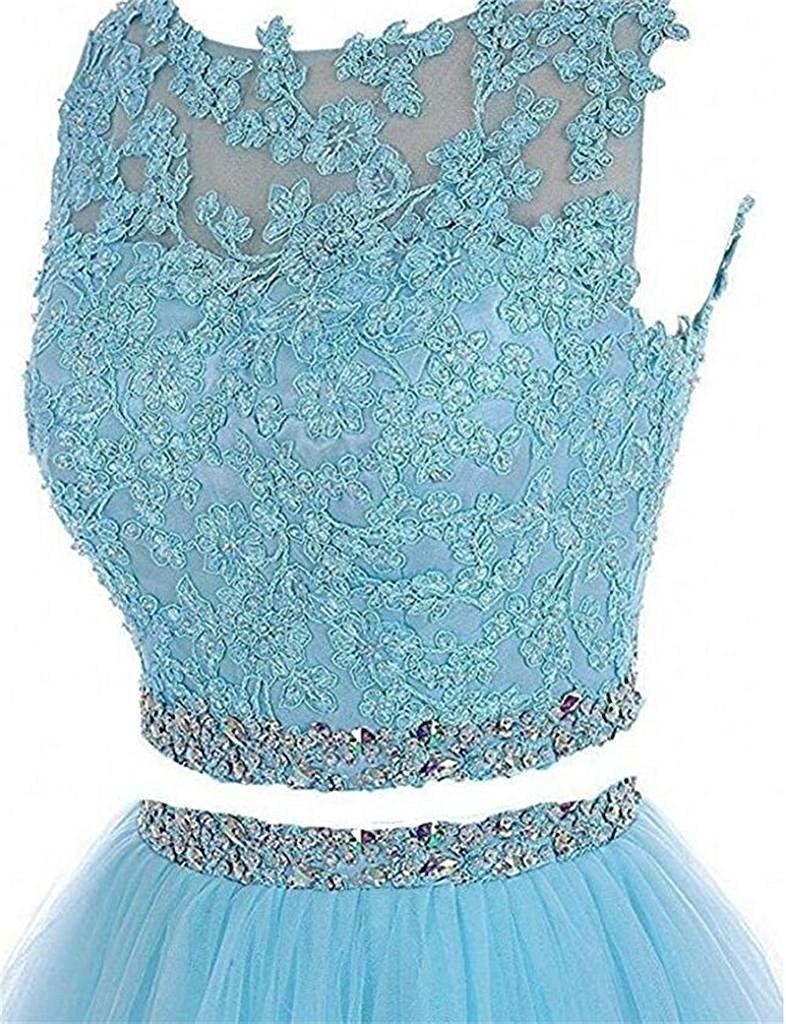 Kapalı Omuz Iki Parçalı Kısa Balo Mezuniyet Elbise Boncuklu Kristaller Aplikler Mezuniyet Kokteyl Parti Kıyafeti QC116