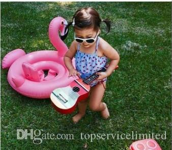 Лебедь Надувные Float плавать кольцо Детские Летние игрушки лебедя бассейн СЕДЛО воды игрушки Пляж игрушки 2 цвета белый и розовый