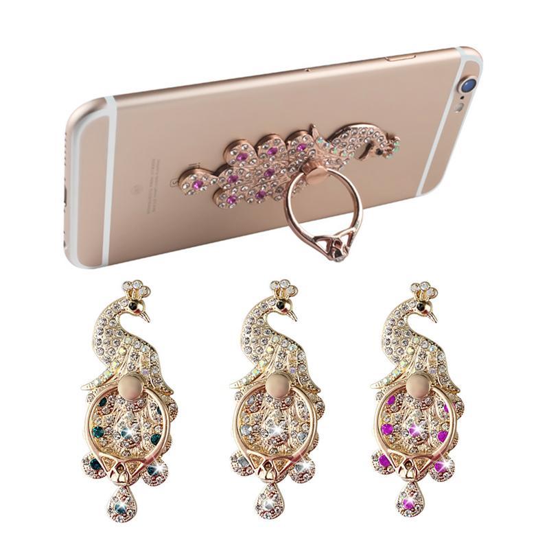Anneau Téléphone Titulaire Bling Diamant Unique Mix Style Titulaire de Téléphone cellulaire De Mode Pour iPhone X 8 7 6 s Samsung S8 support de téléphone portable iPad