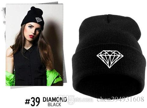 2fa557ef290 2019 Brand New Gorros 2016 Fashion Beanie Men Casual Winter Hat Warm  Diamond Knitted Hats For Women Hip Hop Skullies Beanies Toca From  Chen394931608