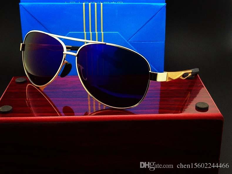 New Folding Glasses Air Force Pilot Polarized Sunglasses Fishing Sunglasses  Outdoor Fashion High Quality Driving Mirror Sunglasses For Men Prescription  ... 23bc0893811