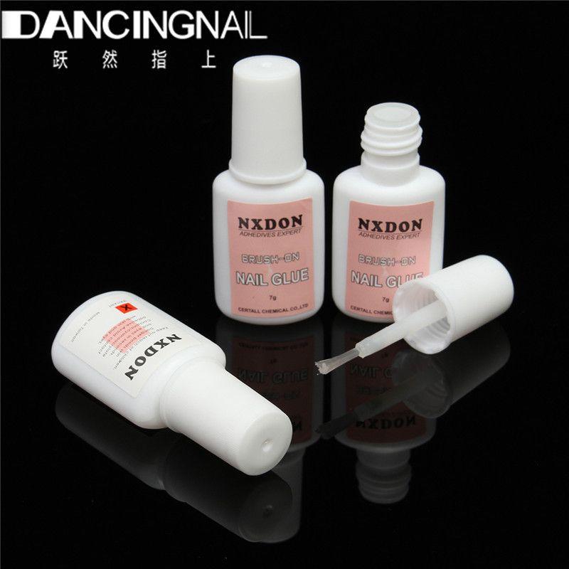 Wholesale- 7g Nail Art Glue Tip Glitter UV Gel Rhinestones ...