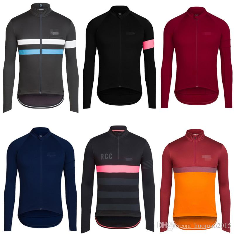 20 Styles Classic Pro Mtb Long Sleeve Cycling Jerseys Spring