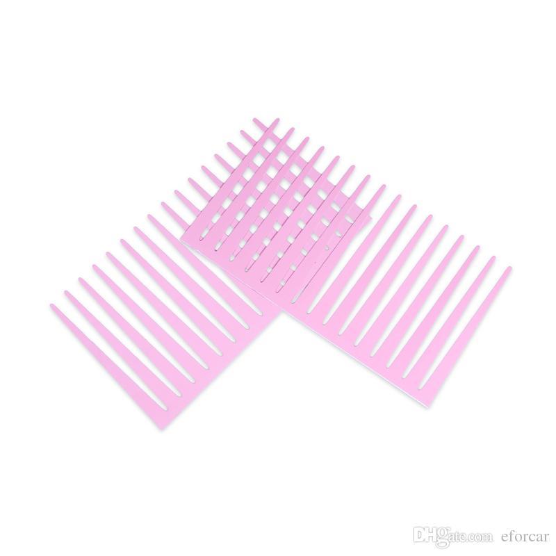 Pink Cute Car Eyelash Automotive Eyelashes Eyeliner 3D Car Logo Headlight Stickers Stereo 31 x 17cm