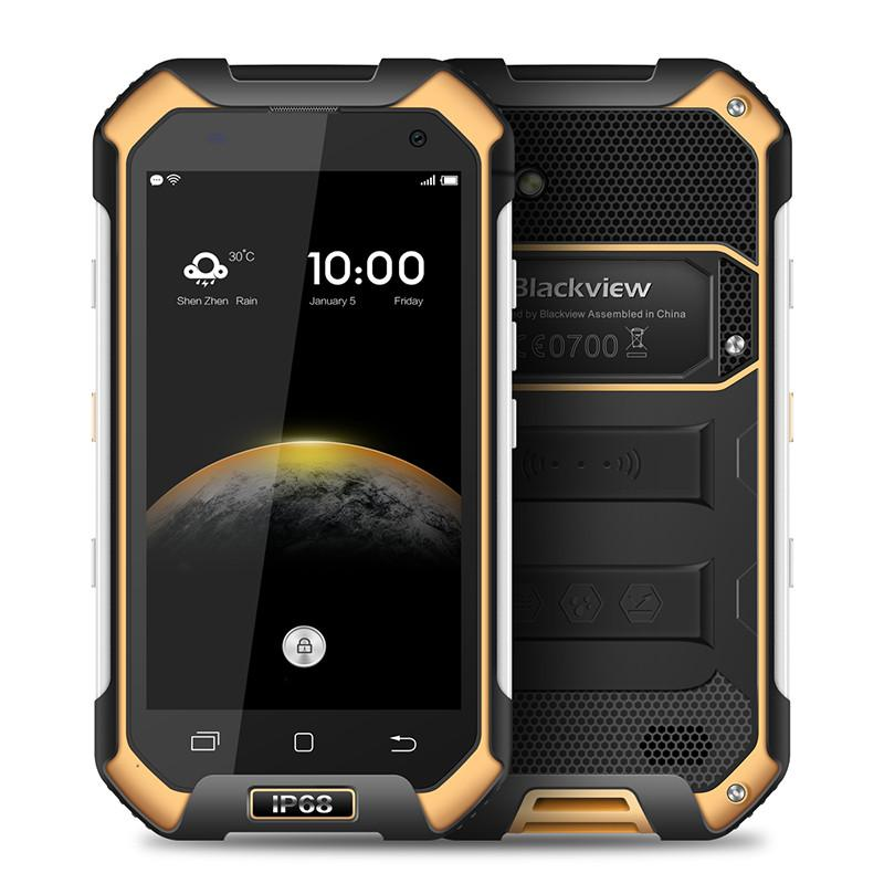 4G LTE Blackview BV6000S IP68 Waterproof 2GB 16GB 64-Bit Quad Core MTK6735 Android 6.0 4.7 inch IPS 1280*720 HD GPS Fast Charge Smartphone