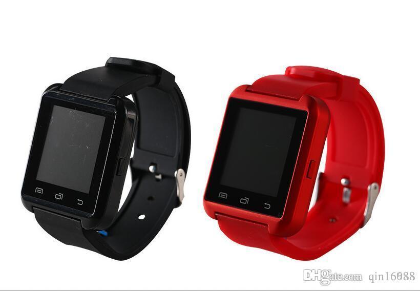 9cc35b89f Relojes Originales U8 U Reloj SmartWatch Pantalla Táctil Reloj De Pulsera  Para IPhone Samsung HTC LG Huawei Teléfono Inteligente Android Teléfonos ...