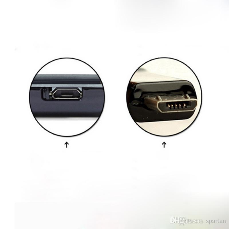 삼성 / 안드로이드에 대 한 보편적 인 휴대 전화 케이블 30CM V8 마이크로 USB 빠른 충전기 미니 케이블 2 코어 18 구리