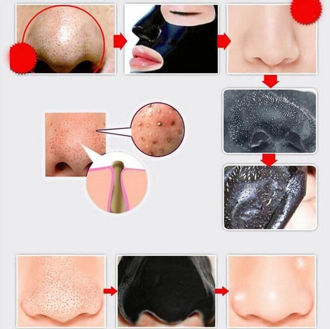2017 PILATEN минералы для лица Конк нос Черноголовых Remover Маска пор моющее средство нос черная голова EX поры полосы DHL