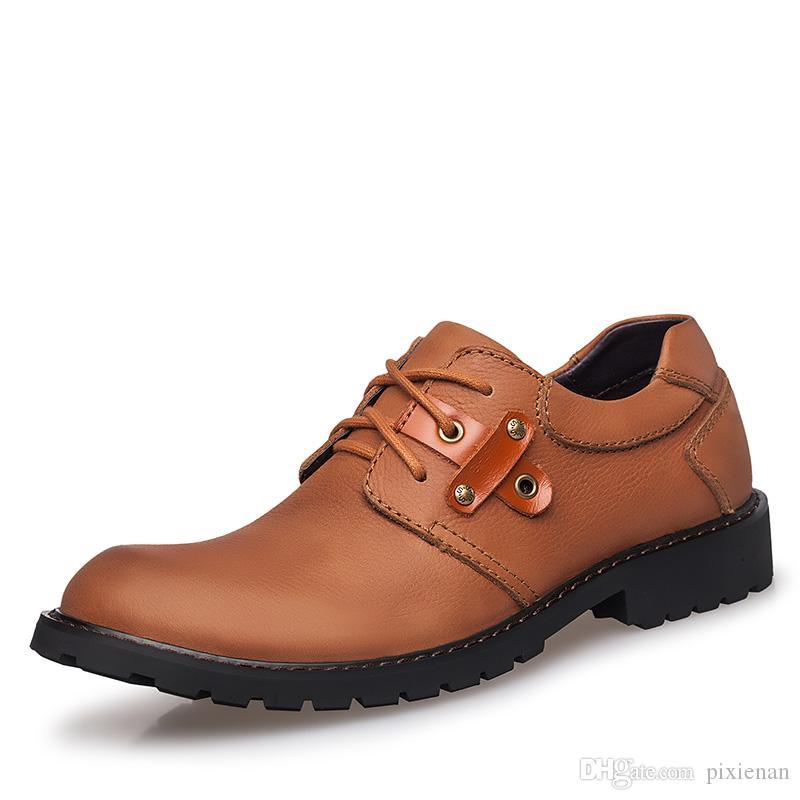 Masculina De Casuales Zapatos Oxford Compre Seguridad Hombre Trabajo OqAPwg