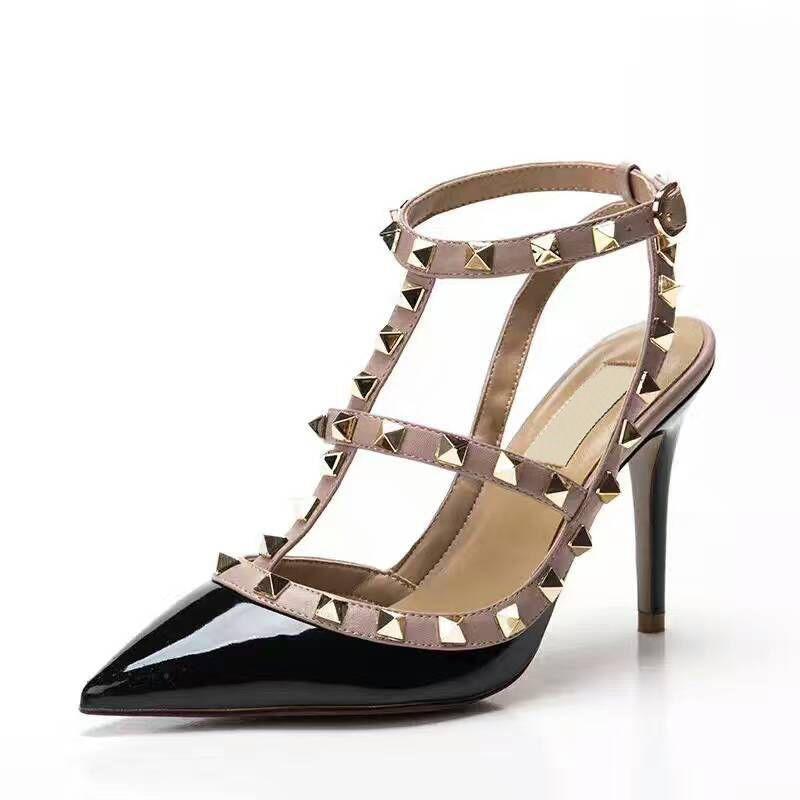 chaussure femme zapatos mujer san valentin zapatos mujer mujer bombas tacones altos zapatos de mujer zapatos de verano Tamaño: 35--41