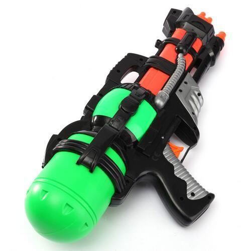 3 قطعة / الوحدة جديد وصول كبير 38 سنتيمتر ارتفاع ضغط سعة كبيرة مسدس مدفع المياه لعبة البنادق المياه كبير الأطفال البنادق الاطفال ألعاب