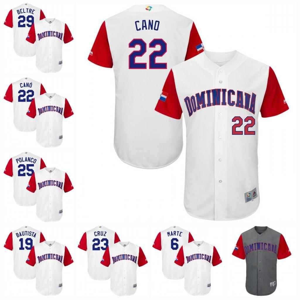 3406c6d96 23 Nelson Cruz Youth 2017 World Baseball Classic Dominican Republic ...