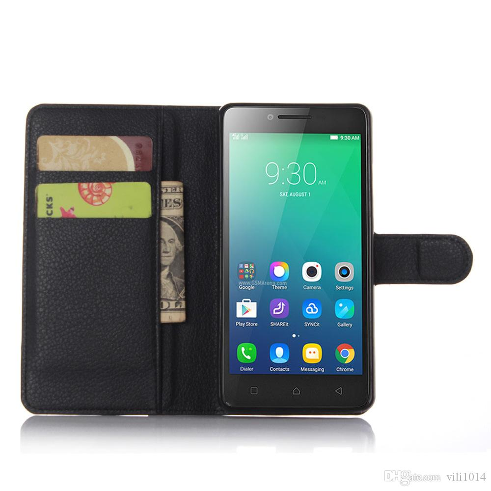 Wallet PU Leather Filp Case Cover For Lenovo K3 K5 NOTE K6 A6010 VIBE X2 X3 P70 Card Slot Photo Frame Phone Bag