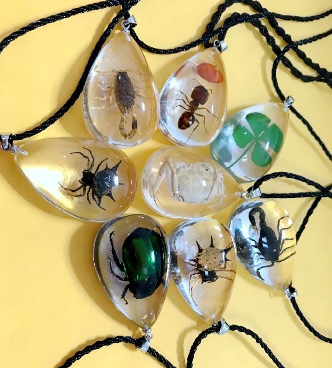 12 PCS Men/'s Real Golden Gothic Scorpion Glow in the dark Bracelets mix rope