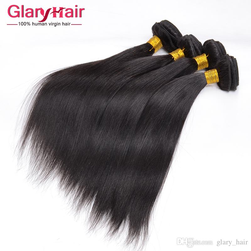 Malaysian Straight Hair Bundles Mixed Length 8-28 inch Malaysian Human Hair Extensions 8a Unprocessed Virgin Wavy Hair Weft Wholesale