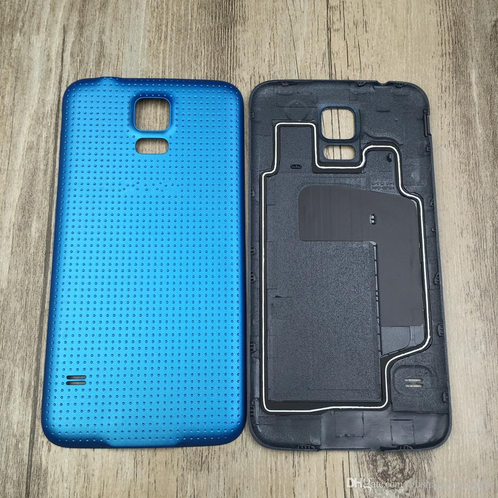 For Samsung Galaxy S5 i9600 G900 Battery Housing Door Back Cover Rear Case Replacement Middle Frame