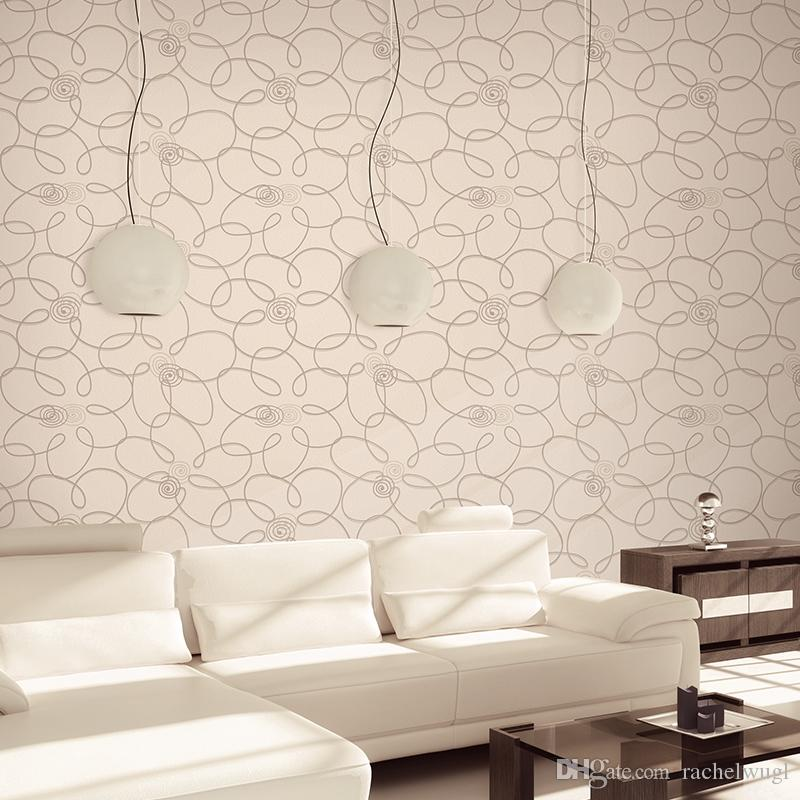 Embossing Textured Wallpaper Vinyl Modern Wall Paper Roll For Sofa ...