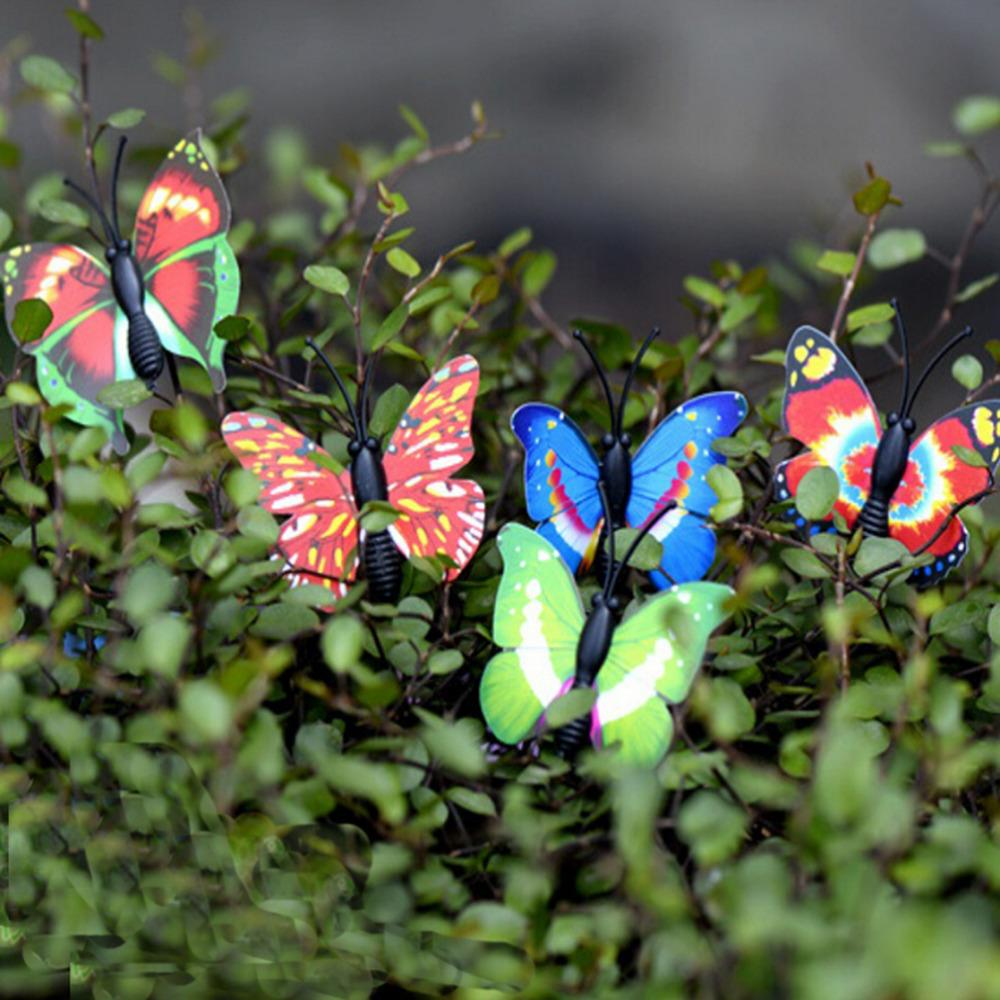 2018 /Set Cute Miniatures Crafts Butterfly Fairy Garden Mini Gnomes ...