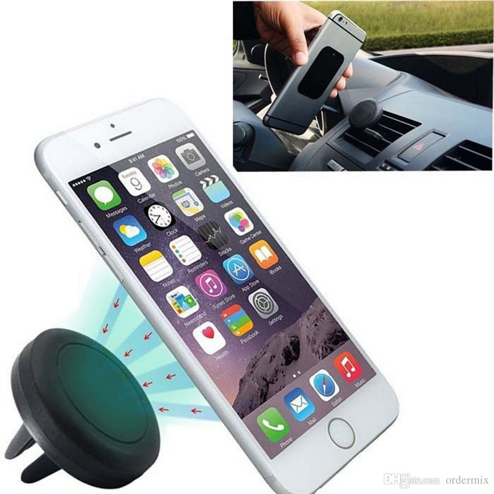 Universal Araç Manyetik Hava Firar Dağı Klip Tutucu Dock iPhone Samsung Cep Telefonu Tablet GPS Için Profesyonel sıcak satış