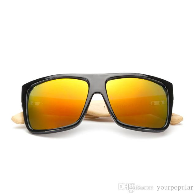 481554f73c4 New Bamboo Sunglasses Vintage Men Wooden Glasses Women Brand ...
