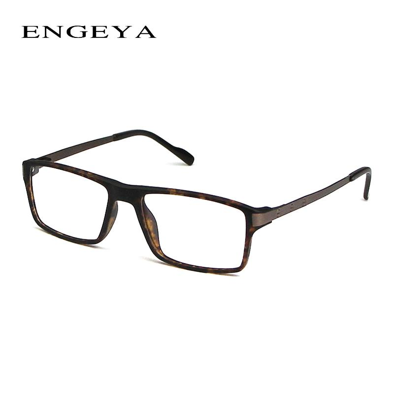 134ff0b8cab 2019 Wholesale 2016 ENGEYA TR90 Clear Lens Fashion Glasses Frame Men  Prescription Eyewear Optical Myopia Eyeglasses Frame High Quality From  Hoganr