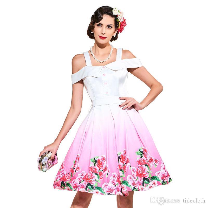Compre Vestido De Fiesta De La Vendimia De Los Años 50 Más El ...