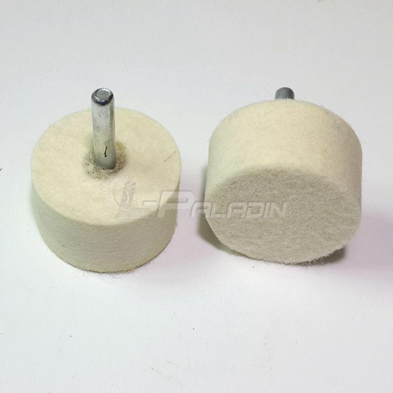 4 pieces Dia  1 57 Wool Felt Mounted Point Buffing Wheel Mirror Polishing  Dremel Die Grinder Drill Rotary Tools