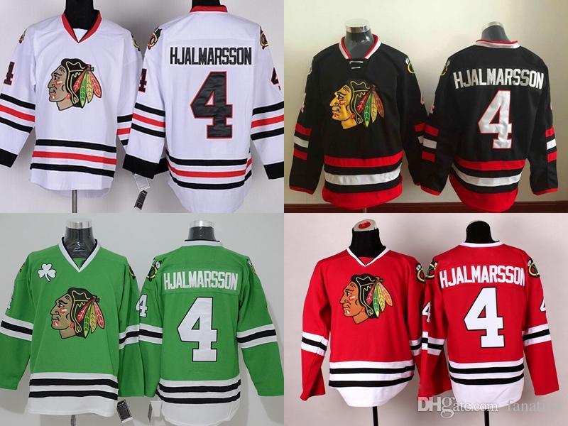 sale retailer 54cf3 fcc58 2016 -15 Stadium Series/chicago blackhawk jerseys #4 Niklas Hjalmarsson  Jersey discount hockey jerseys china Embroidery Logos Mix