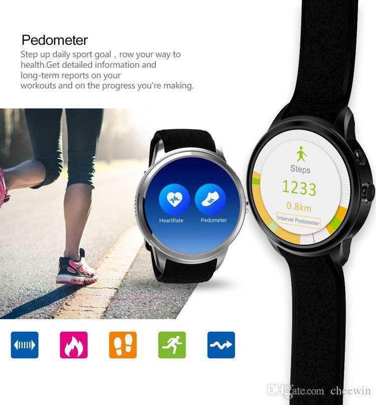 Smart mobile Phone Android 5.1 MTK6580 Quad-core smart watches with camera GPS wifi support SIM card 3G WCDMA whatsapp facebook
