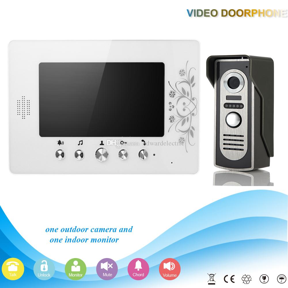 Best doorbell camera system - Best Seller China Systle 7 Inch Video Door Phone Kit Ir System Outdoor Metal Panel Camera Intercom Doorphone Home Security Telephone Doorbell Video Calling