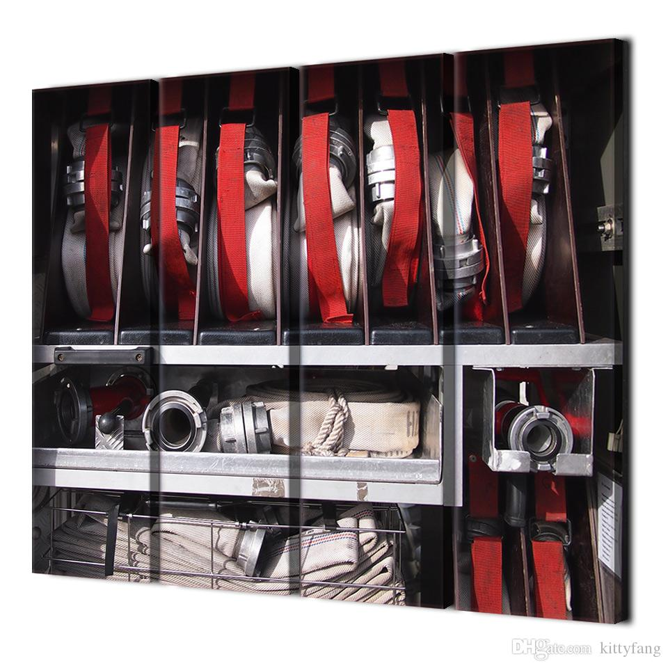 Canvas Paintings Printed Fire Equipment Wall Art Canvas Pictures For Living Room Bedroom Modular Home Decor up-1280C