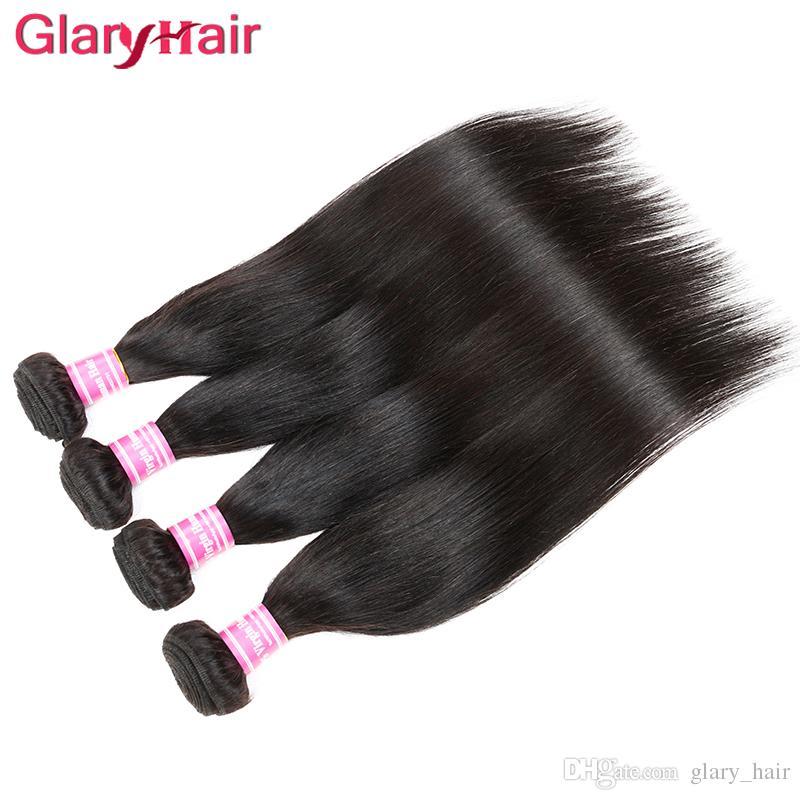 Diritto capelli umani Extension Factory all'ingrosso economici peruviano 4 Bundles Brasiliani capelli vergini parrucche Colore naturale e capelli onda del corpo tessere