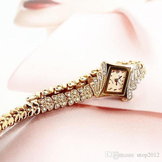 15% Newest KIMIO Sweetheart pendant Women's Wrist Watch Girls quartz Wristwatches Student Bangle Wristwatch Stainless Steel Clock