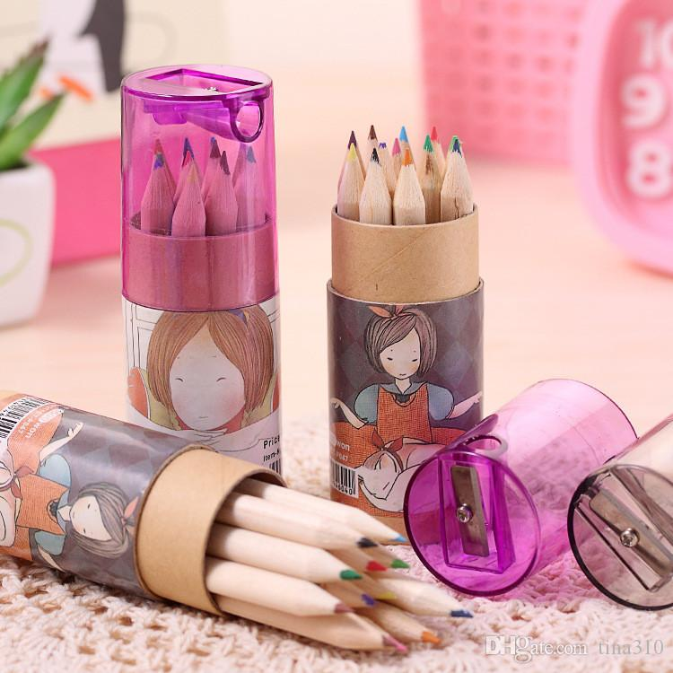 Secret Garden Coloring Pencils Enchanted Forest Painting Pens Colored Pencils Creative Writing Tools Colouring Pencils IB279