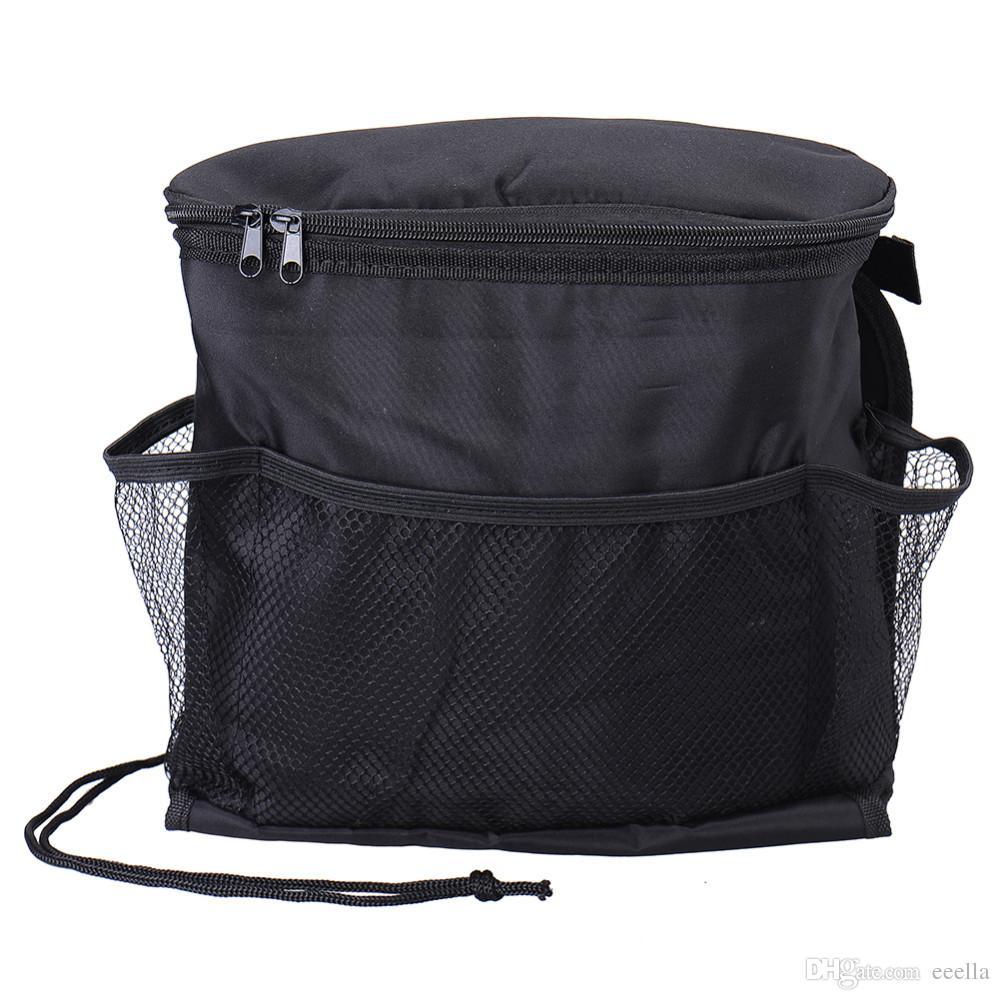 Auto Refrigerador Car Bag assento Organizador multi bolso de refrigeração Arranjo Bag Back Seat Cadeira Styling assento Titular Capa Organizer