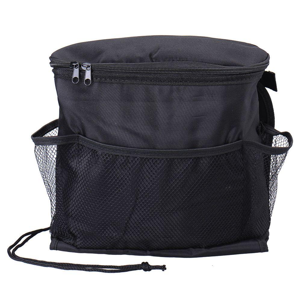 Автомобиль Cooler Bag сиденье Органайзер Мульти охлаждения Карманной Транскрипция сумка Back Seat Председатель Styling сиденье Обложка Организатор держатель