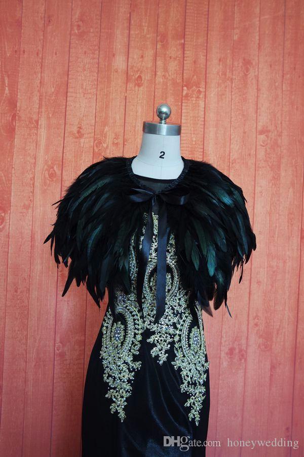 Copricapo da sposa in pizzo nero Copricapo da sposa in capo blu Bolero Avvoltoio da sposa rosso nuovo scialle nuziale Misura su misura