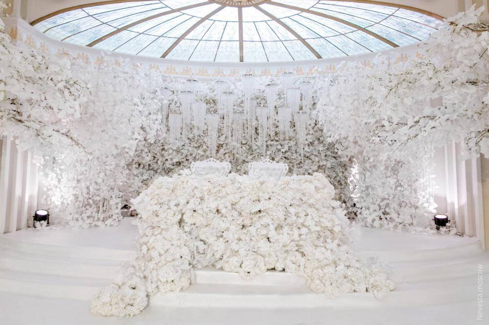 Großhandel Weiße Hochzeit Requisiten Bühne Hintergrund Dekoration ...