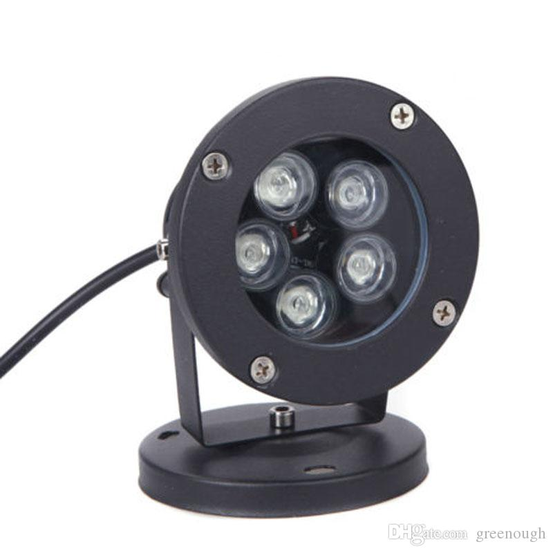 5X1W High Power LED Path Spot Light With Base or Spike LED Lawn Spike Light LED Inground Flood light