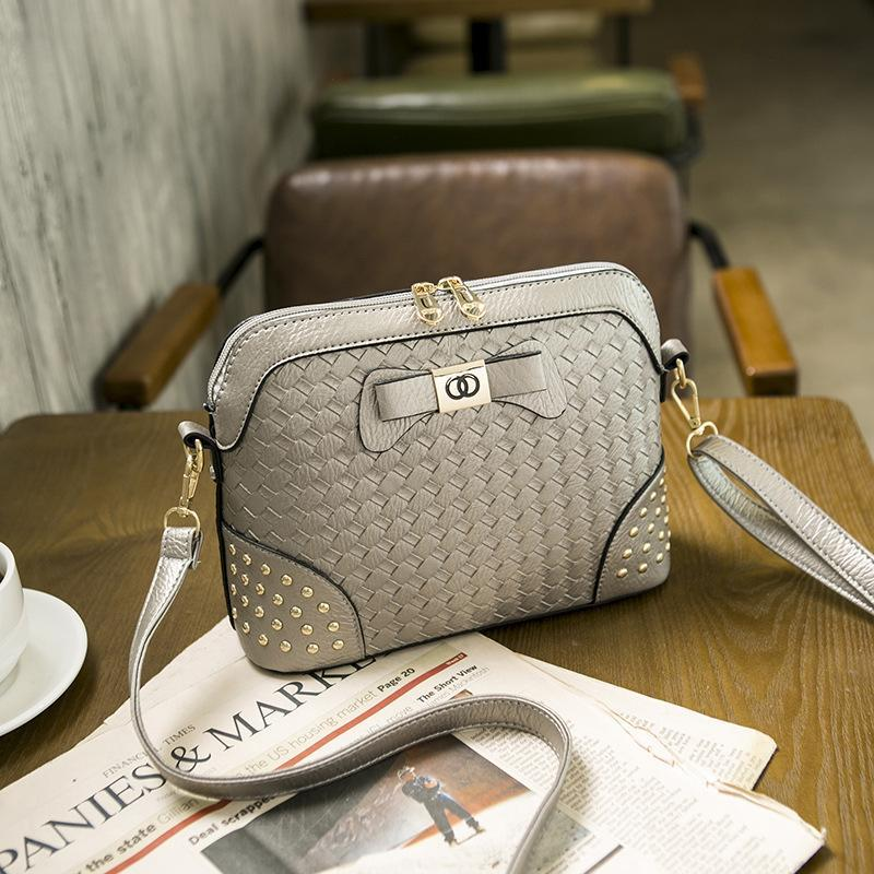 Luxury Crossbody Bags For Women Pu Korean Fashion Ladies Shoulder Leather  Bag Crochet Shell Messenger Bags Small Bow Bolsas Women Bag Cross Body  Purses ... f610ee8a79c21