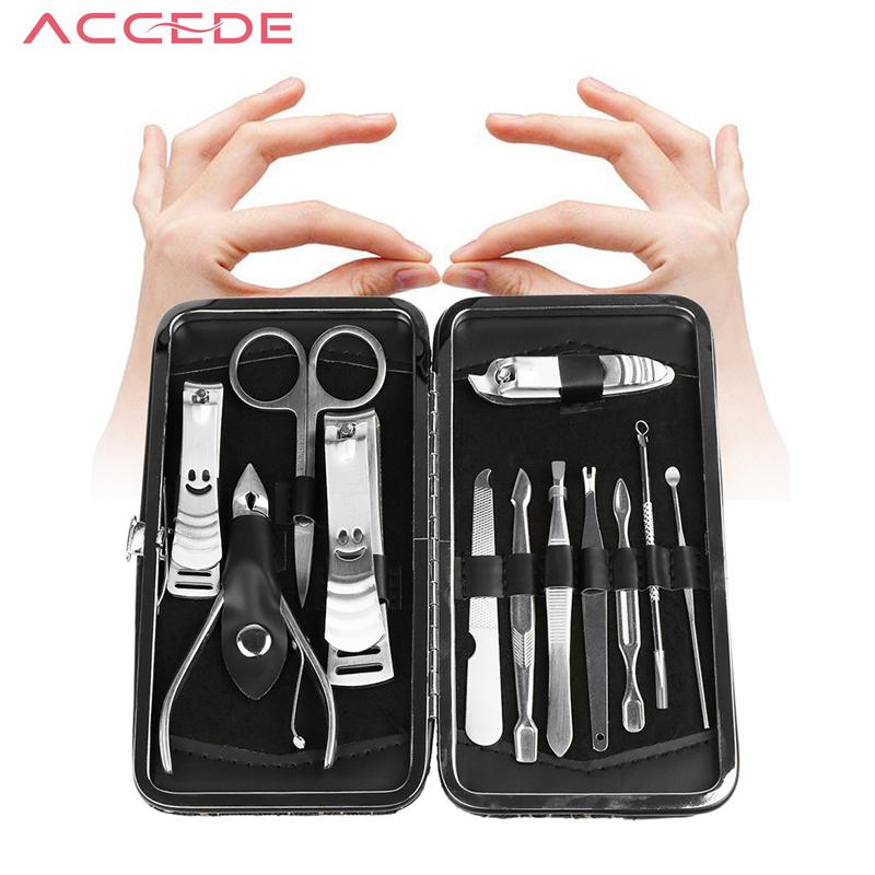 Wholesale Nail Care Tool Sets+Cuticle Knife + Eyebrow Tweezer+ Nail ...