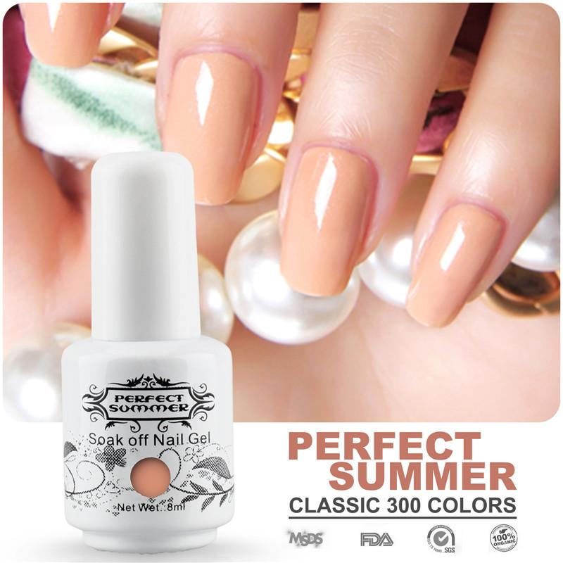Wholesale Perfect Summer Nail Gel Polish Diy Nail Art Salon Uv Soak ...