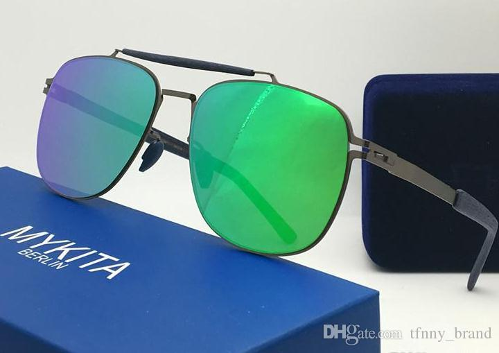 de665911d7 TOP QUALITY Mykita ELON Sunglasses Ultralight Frame Without Screws Pilot  Frame Men Women Brand Designer Sunglasses Online with  38.65 Piece on  Tfnny brand s ...