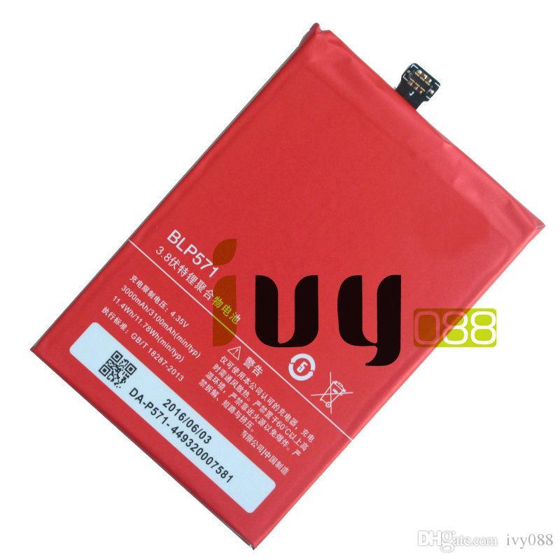 20 adet / grup 3000 mAh Orijinal BLP571 Yedek Li-Polimer Pil Için ONEPLUS 1 + Bir artı 64 GB 16 GB Piller Batteria Batterij